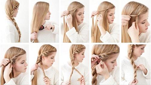 Как можно сделать прическу самой на длинные волосы